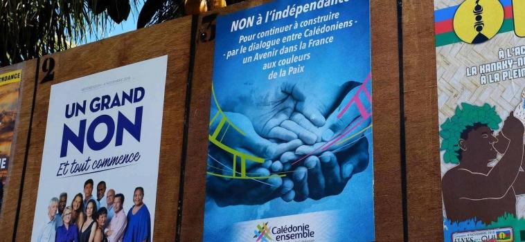 [ Communiqué de Bernard Monot ] Le « Calédonexit » de la France, c'est non !