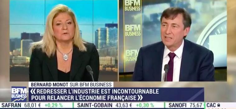 [ Vidéo ]Bernard Monot sur BFM Business.