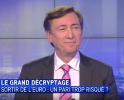 [ Vidéo ] Bernard Monot invité d'Itélé: «sortir de l'euro, un pari trop risqué?».