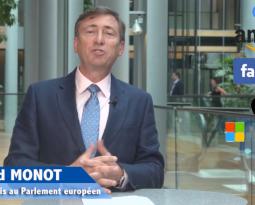 [ Vidéo ] Bernard Monot victoire européenne contre les géants du numérique les GAFAMs.