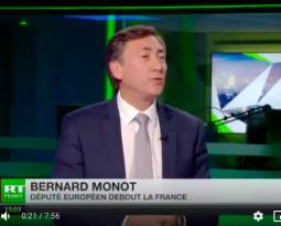 [ Vidéo ] Bernard Monot invité de RT France pour réagir à la gronde fiscale des gilets jaunes.