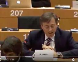 [ Vidéo ] Intervention de Bernard Monot en soutien au Gouvernement italien contre la mécanique politique européiste d'oppression des peuples