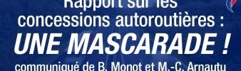 Rapport sur les concessions autoroutières: la mascarade