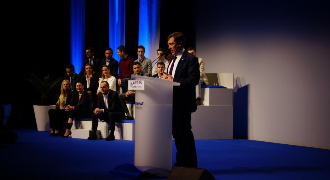 Intervention de Bernard Monot aux Assises présidentielles
