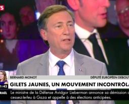 [ Vidéo ] Bernard Monot sur CNews pour débattre sur la hausse des carburants et la présidence Macron.