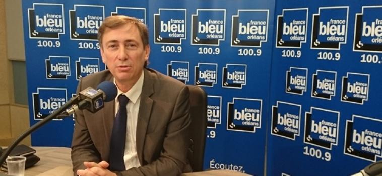 Bernard Monot sur FranceBleu Orléans