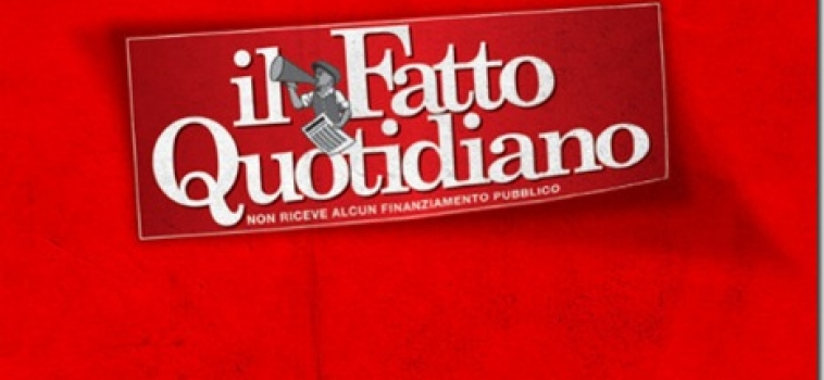 Interview au journal italien il Fatto Quotidiano