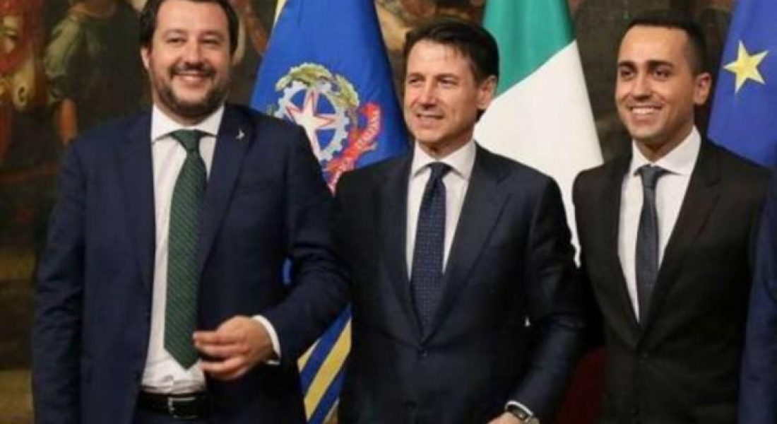 [ Communiqué de Nicolas Dupont-Aignan et Bernard Monot ] Projet de budget italien 2019 : un pas de plus vers l'indépendance nationale de l'Italie.